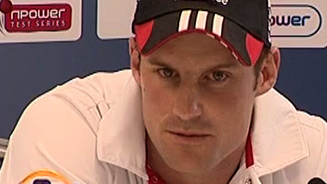 England Test captain Andrew Strauss