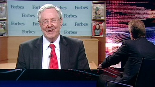 Steve Forbes and Stephen Sackur