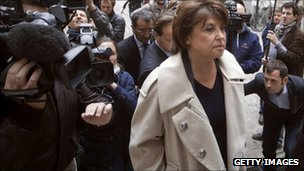 French Socialist Party head Martine Aubry