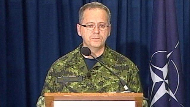 Nato's Colonel Roland Lavoie