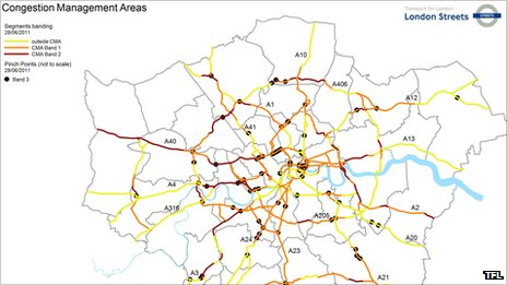 Congestion Areas Management