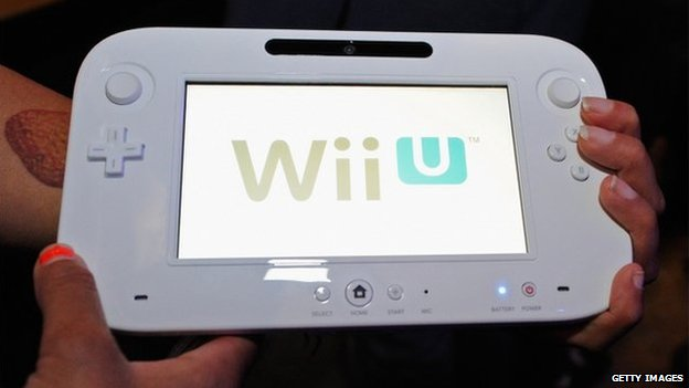 The hand controller for the new Wii U