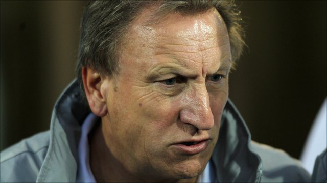 QPR manager Neil Warnock