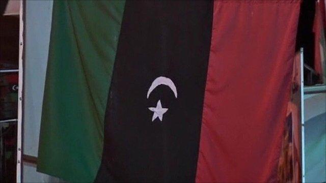 Flag of the Libyan rebels