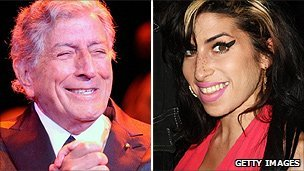 Tony Bennett and Amy Winehouse