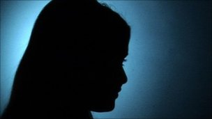Woman's silhouette (generic)
