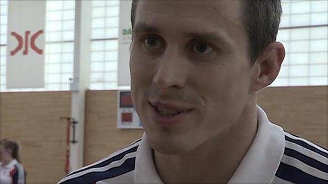 GB Judoka Euan Burton
