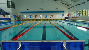 New 12m arc leisure matlock opened to public bbc news - Arc swimming pool ...