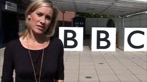 BBC presenter Sophie Raworth