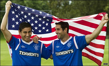 Alejandro Bedoya and Carlos Bocanegra