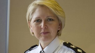 Haringey Borough Commander Sandra Looby