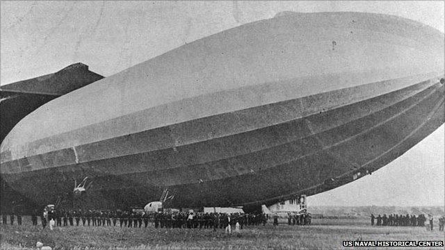 R38 Airship