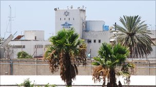 Shikma prison, Asheklon