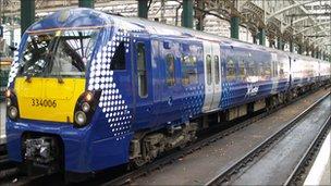 Three-carriage class 334 train