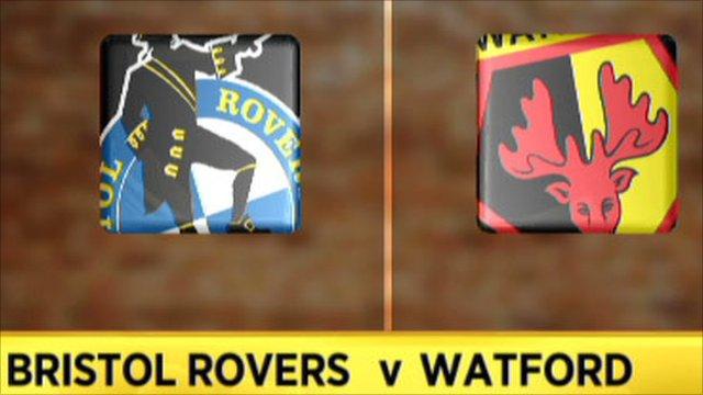Bristol Rovers 1-1 Watford (4-2 on pens)