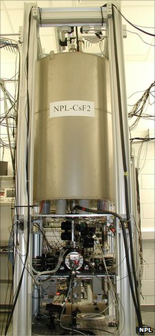 Caesium clock at NPL (NPL)