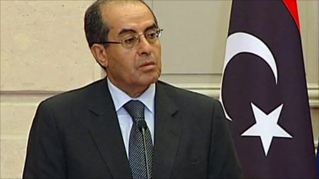 Mahmoud Jibril, Libya's rebel National Transition Council