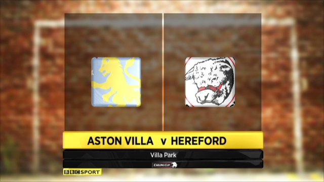Aston Villa 2-0 Hereford