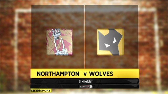 Northampton 0-4 Wolverhampton