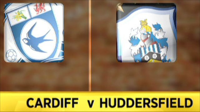 Cardiff 5-3 Huddersfield (aet)