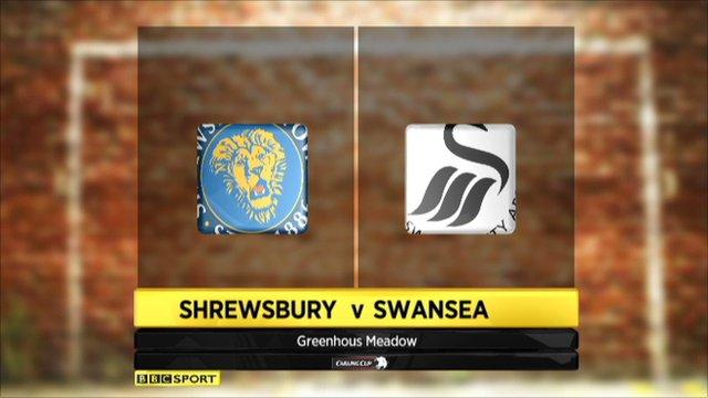 Shrewsbury 3-1 Swansea