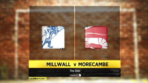 Millwall 2-0 Morecambe