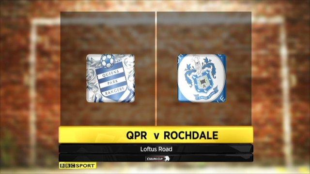 QPR 0-2 Rochdale