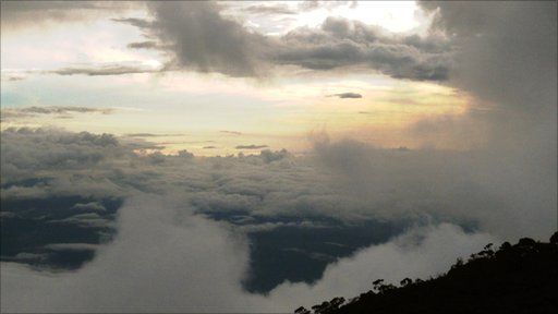 View from Mount Kinabalu