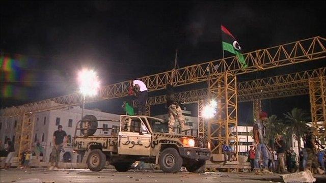 Libyan rebel forces