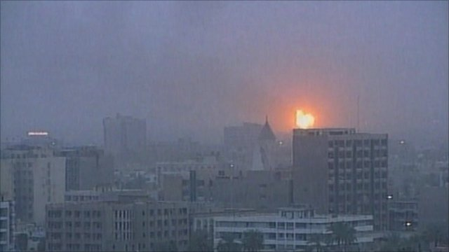On 20 March 2003, American missiles hit the Iraqi capital, Baghdad, signalling the start of the US-led campaign to topple Saddam Hussein.