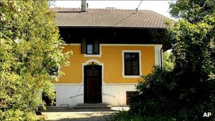 The house in St Peter am Hart, Austria, where police are investigating allegations that a man imprisoned his two mentally retarded daughters and sexually abused them