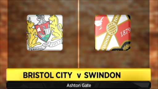 Bristol City 0-1 Swindon