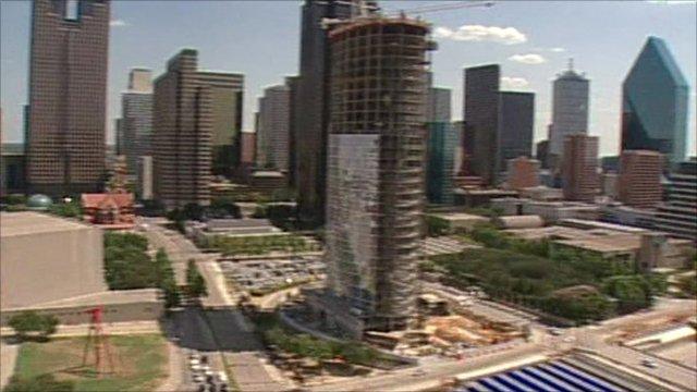 Texan skyline