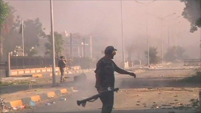 Tripoli fighting