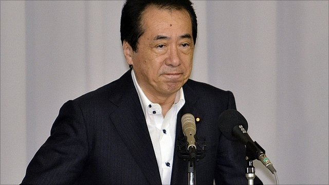 Japan Prime Minister Naoto Kan 