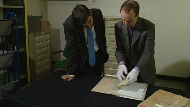 Examining files