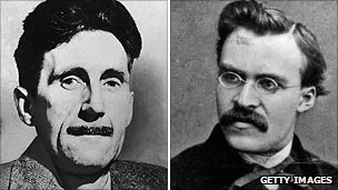 George Orwell and Friedrich Nietzsche