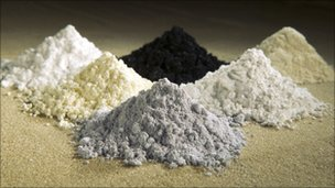 Rare earth oxides