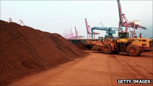 rare earth materials ready to loaded