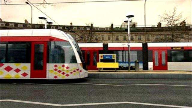 Trams in Edinburgh