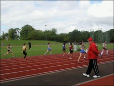 School Reporters were trackside to see some of the athletics competition.