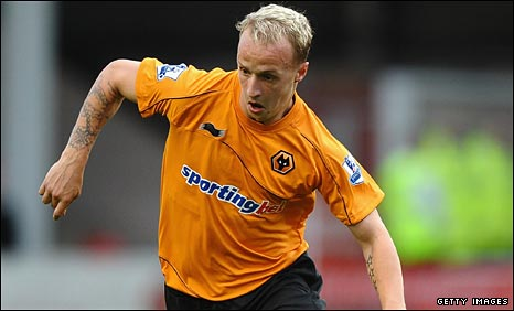 Wolves striker Leigh Griffiths