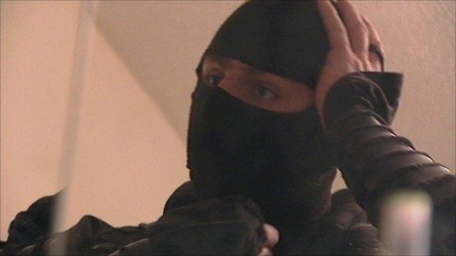 Ken Andre in ninja costume