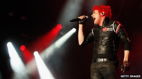 Gerard Way from My Chemical Romance