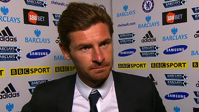 Chelsea boss Andre Villas-Boas 