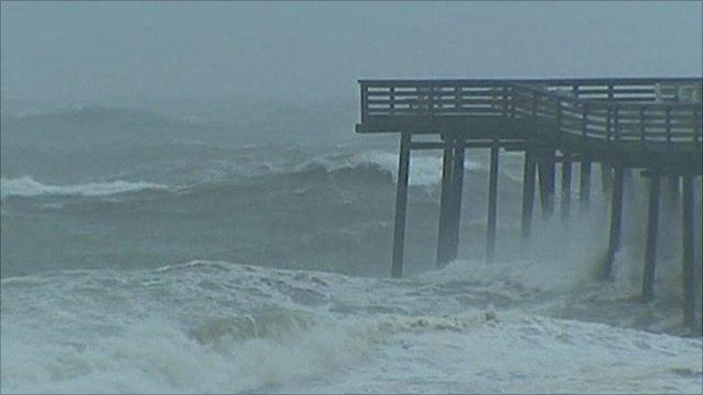 Waves at Virginia Beach
