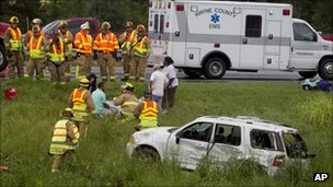 Fatal car accident in Goldsboro, NC, Saturday 27 August 2011