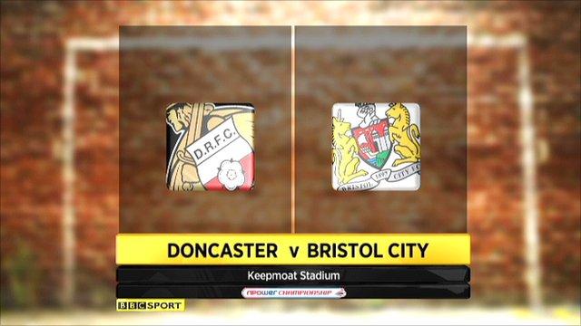 Doncaster 1-1 Bristol City