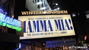 Mamma Mia! on Broadway