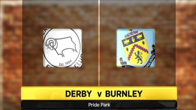 Derby 1-2 Burnley